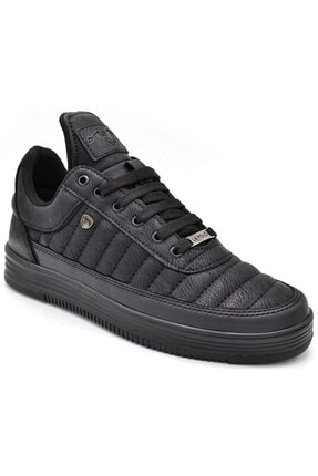 L.A Polo Erkek Siyah Sneaker Spor Ayakkabı 07