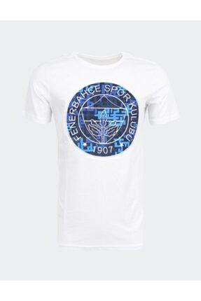Fenerbahçe Erkek Trıbun Pattern Logo Tshırt