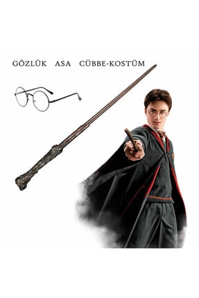 Harry Potter Pelerin Gryffindor Kostüm Cübbe - Asa - Gözlük
