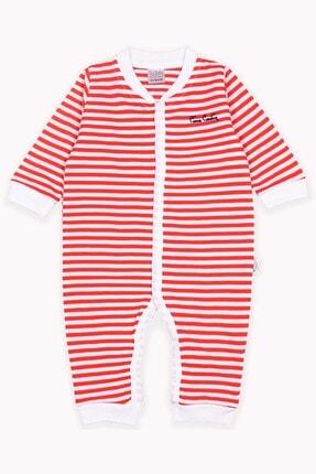 Pierre Cardin Baby Erkek Bebek Kırmızı Lakost Yakalı Tulum