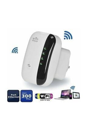 HADRON Wifi Repeater Kablosuz Sinyal Güçlendirici Access Point 300mbps