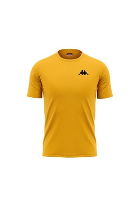 Kappa Erkek Sarı Poly Bux T-shirt
