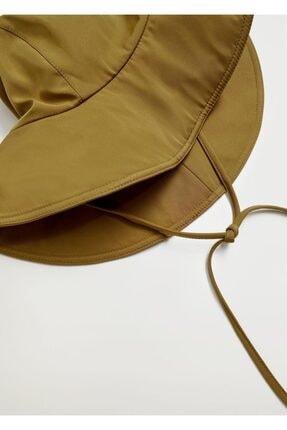 MANGO Woman Bantlı Bucket Şapka