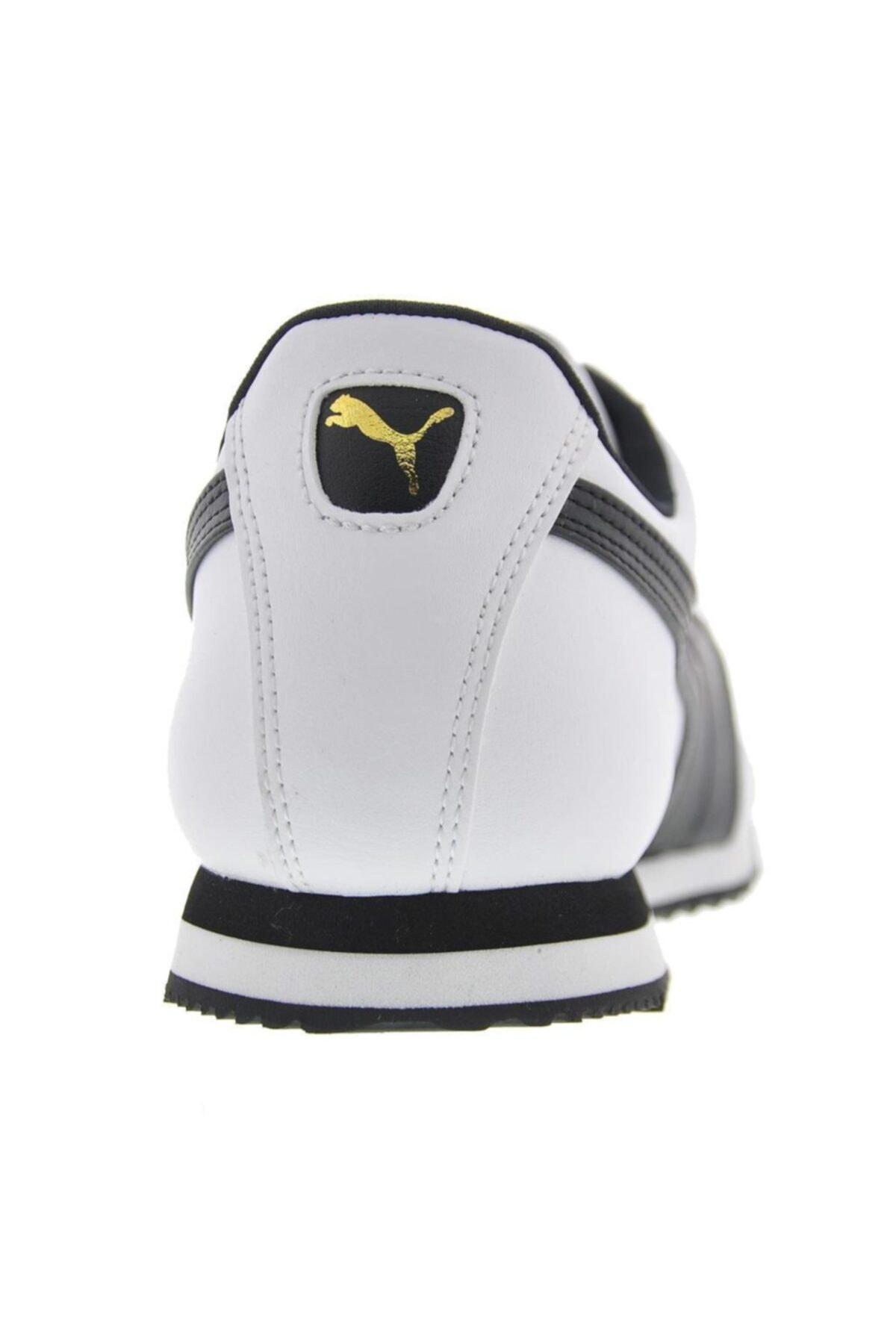 Puma Erkek Beyaz Roma Basic Co Spor Günlük Ayakkabı 353572-04 2