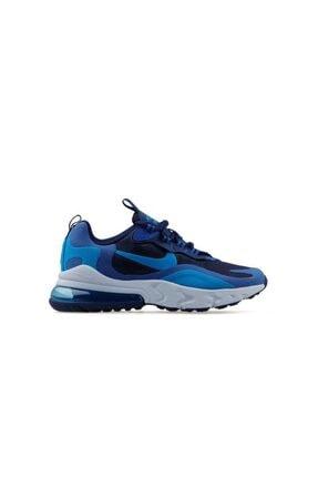 Nike Unisex Çocuk Lacivert Air Max 270 React (Gs) Genç Günlük Yürüyüş Ayakkabısı