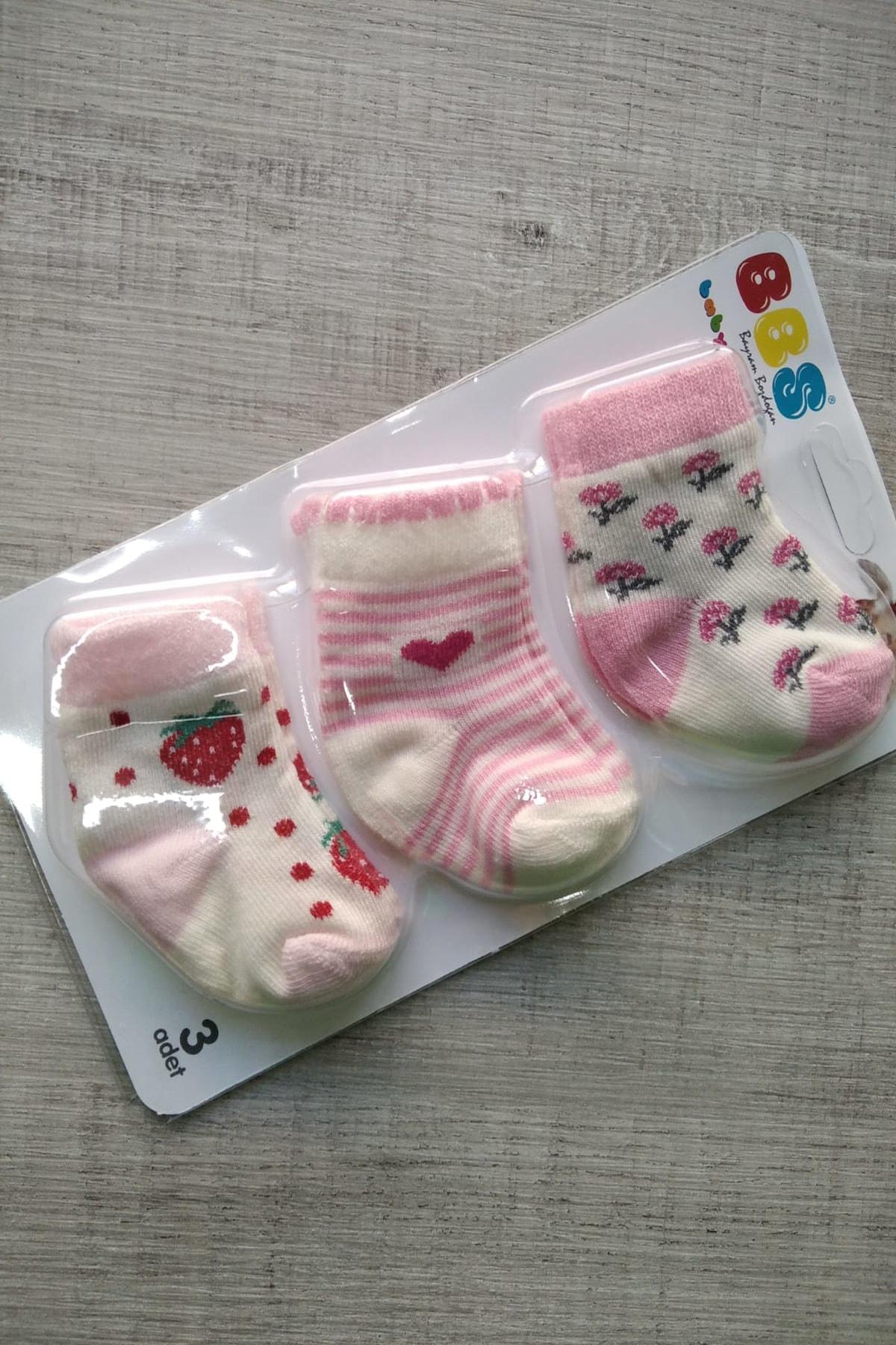 Bebek Exclusive 3lü Bebek Çorabı 1