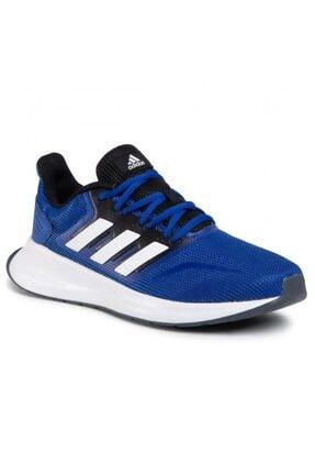 adidas Runfalcon Erkek Mavi Koşu Ayakkabısı Fw5055