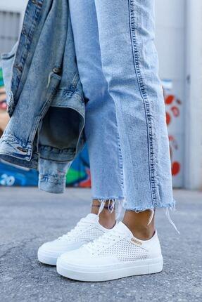 Chekich Ch015 Bt Kadın Ayakkabı Beyaz
