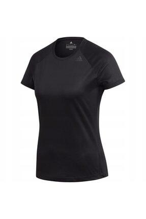 adidas Kadın Tişörtü Spor Siyah Bk2708 D2m Tee