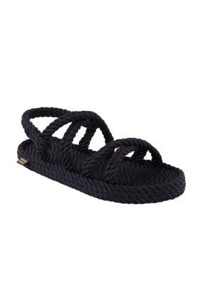 Nomadic Republic Tahiti Erkek Halat Sandalet - Siyah
