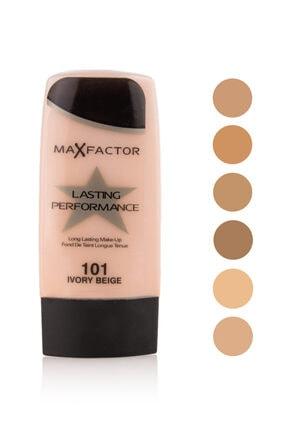 Max Factor Lasting Performance Pastelle Iz Bırakmayan Fondöten 101 Ivory Beige