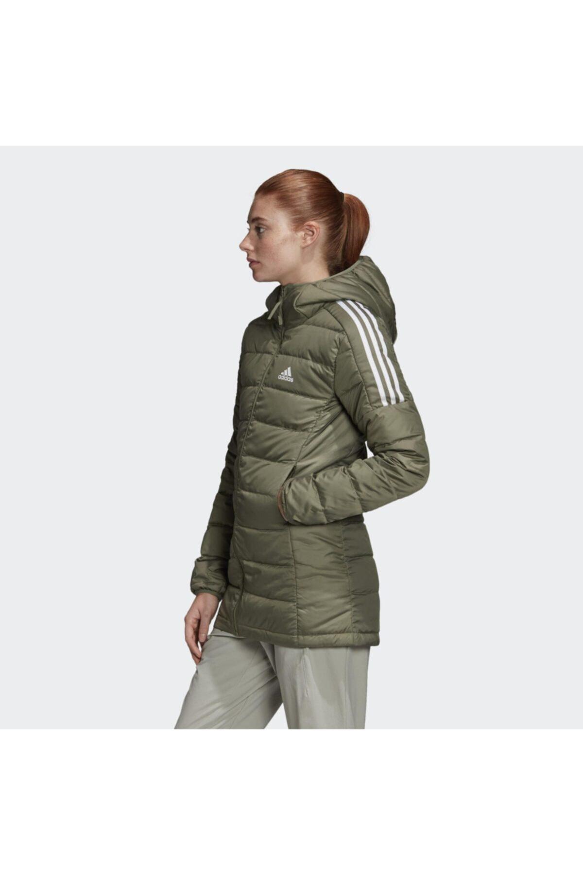 adidas Essentials Down Hooded Kadın Parka Gh4591 2