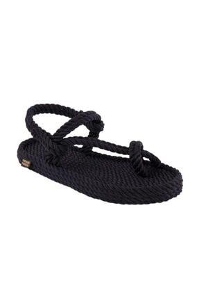 Nomadic Republic Hawaii Erkek Halat Sandalet - Siyah
