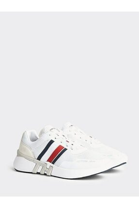 Tommy Hilfiger Erkek Th Lightweight Corporate Runner Sneaker