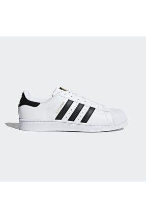 adidas Superstar Erkek Bayan Günlük Spor Ayakkabı Beyaz - C77124