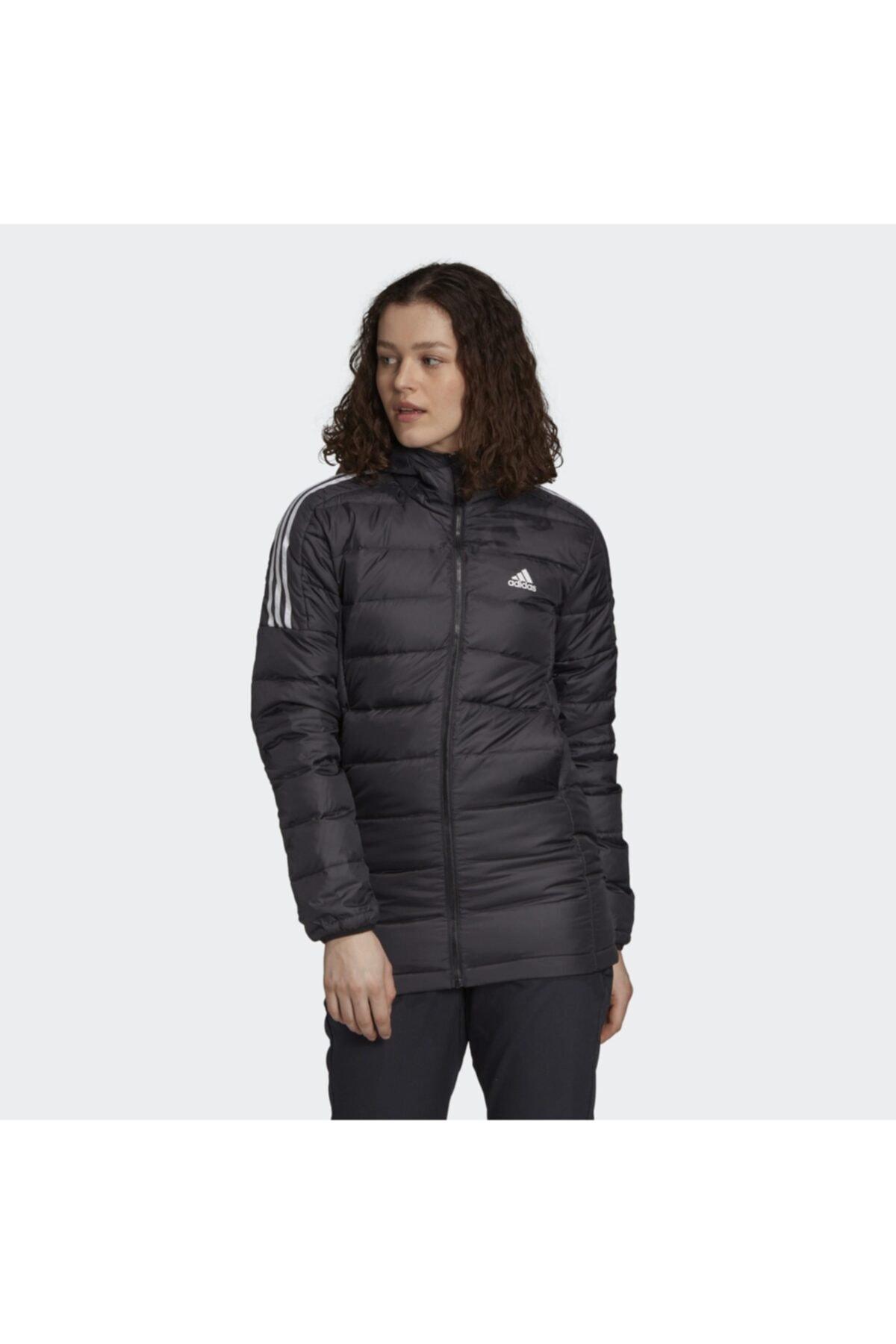 adidas Essentials Down Hooded Kadın Parka Gh4590 1