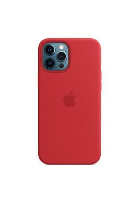 Enz Aksesuar Kırmızı Apple Iphone 12 Pro Lansman Kılıf - Içi Süet