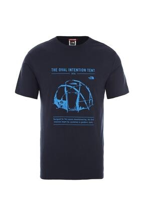 THE NORTH FACE Graphic Tee Erkek T-shirt (Nf0a493mh2g1)