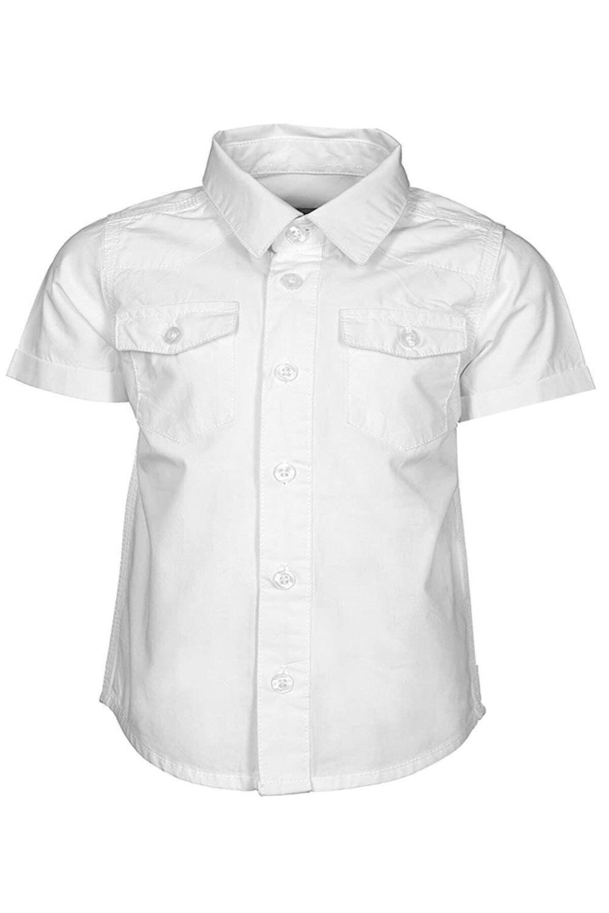 Kanz Gömlek Erkek Çocuk Beyaz 1