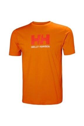 Helly Hansen Hh Logo Erkek T-shirt Turuncu