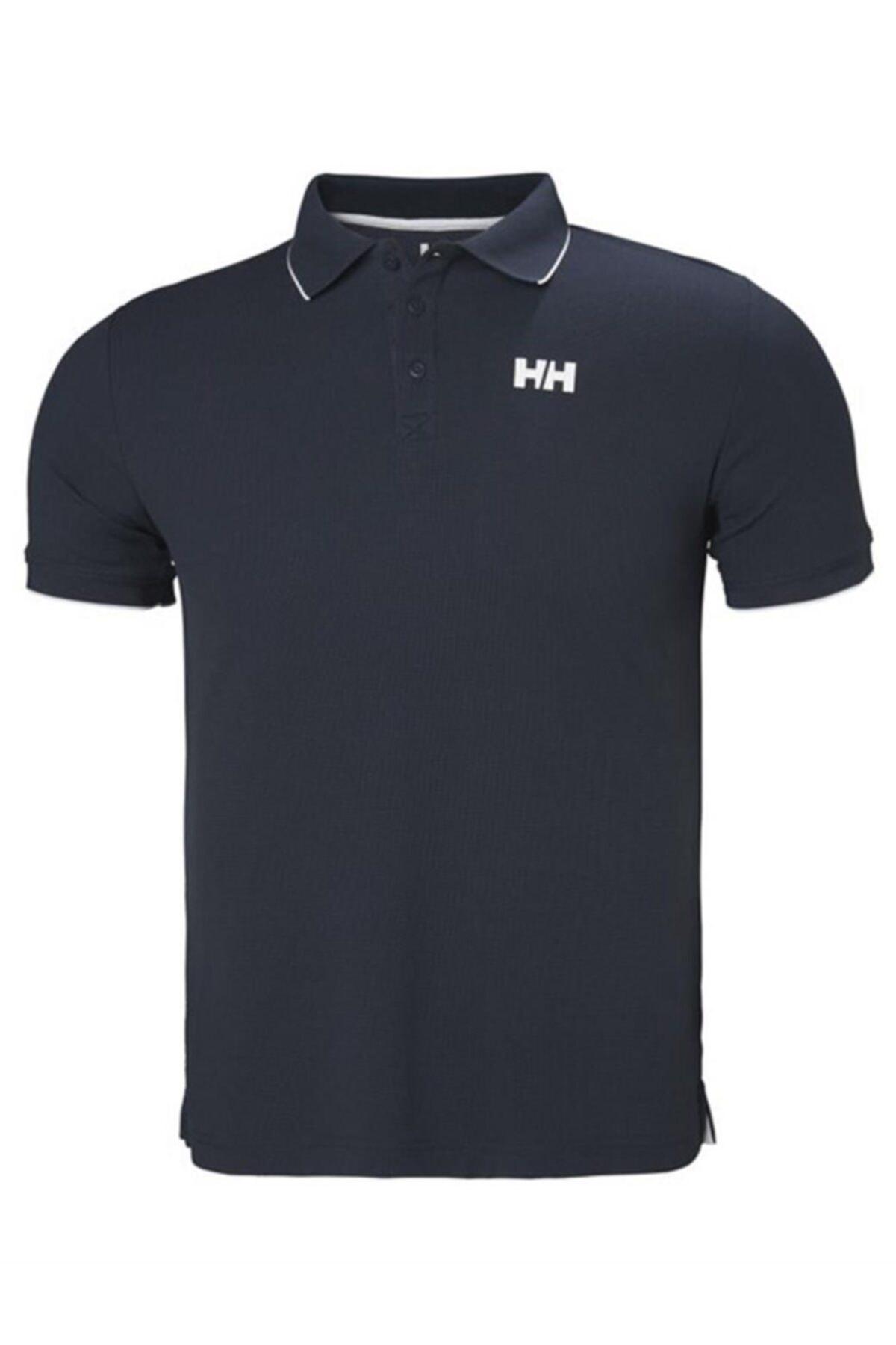 Helly Hansen Kos Polo Yaka Erkek T-shirt Lacivert 1