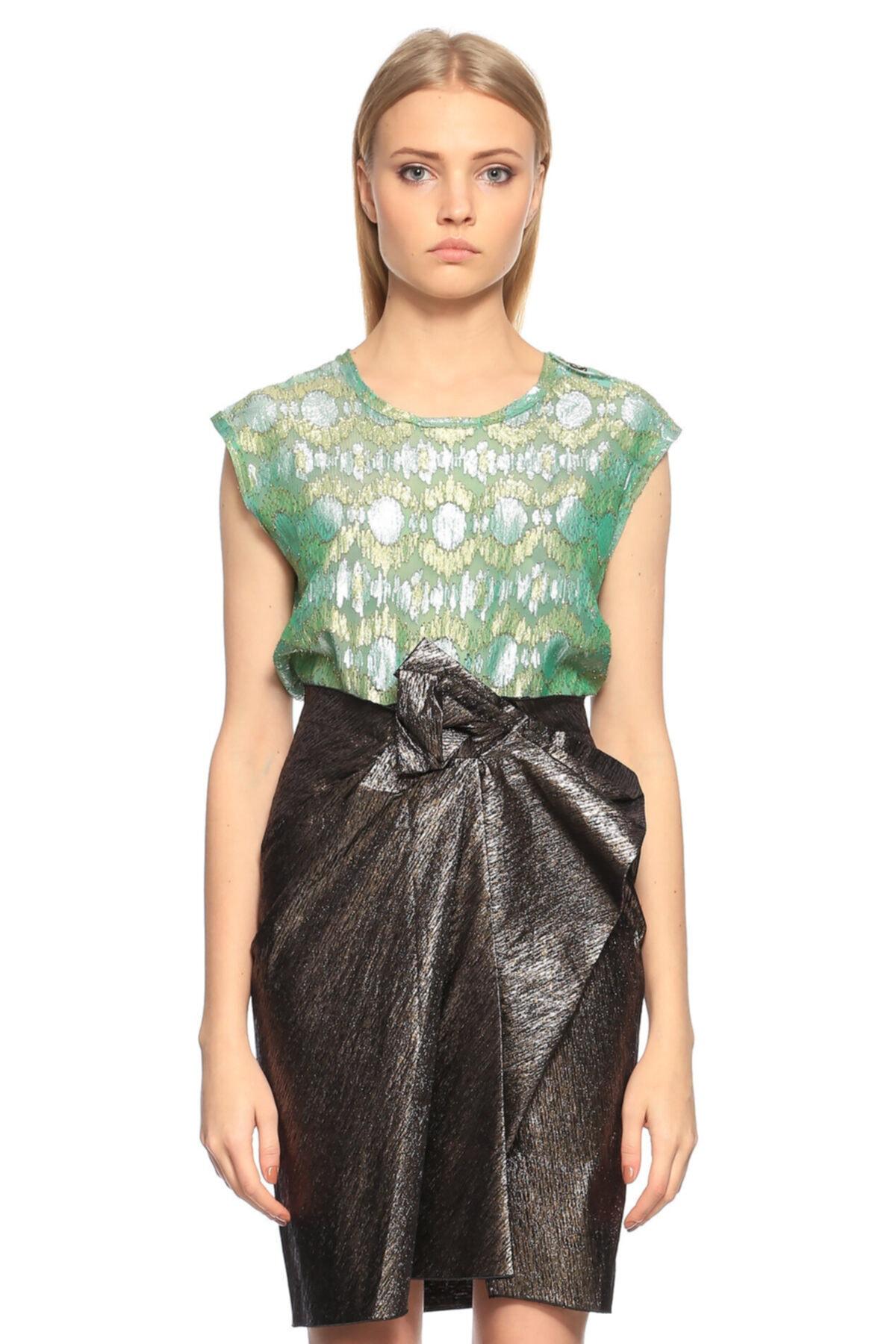 Lanvin Yeşil Bluz 1