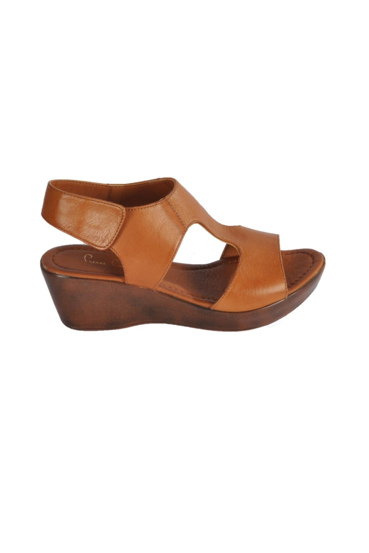 Pierre Cardin Pc-2679 Z.sandalet Taba Kadın Sandalet 2