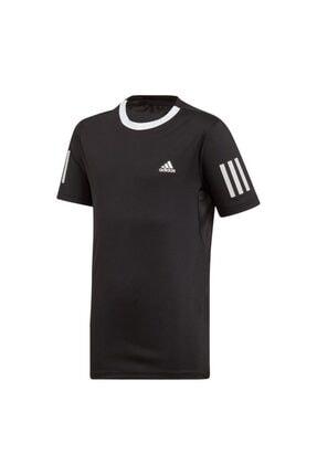 adidas B Club Tee 3str Du2487 Erkek Tenis Tişört Siyah