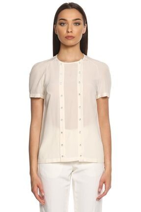 Christopher Kane Beyaz Bluz