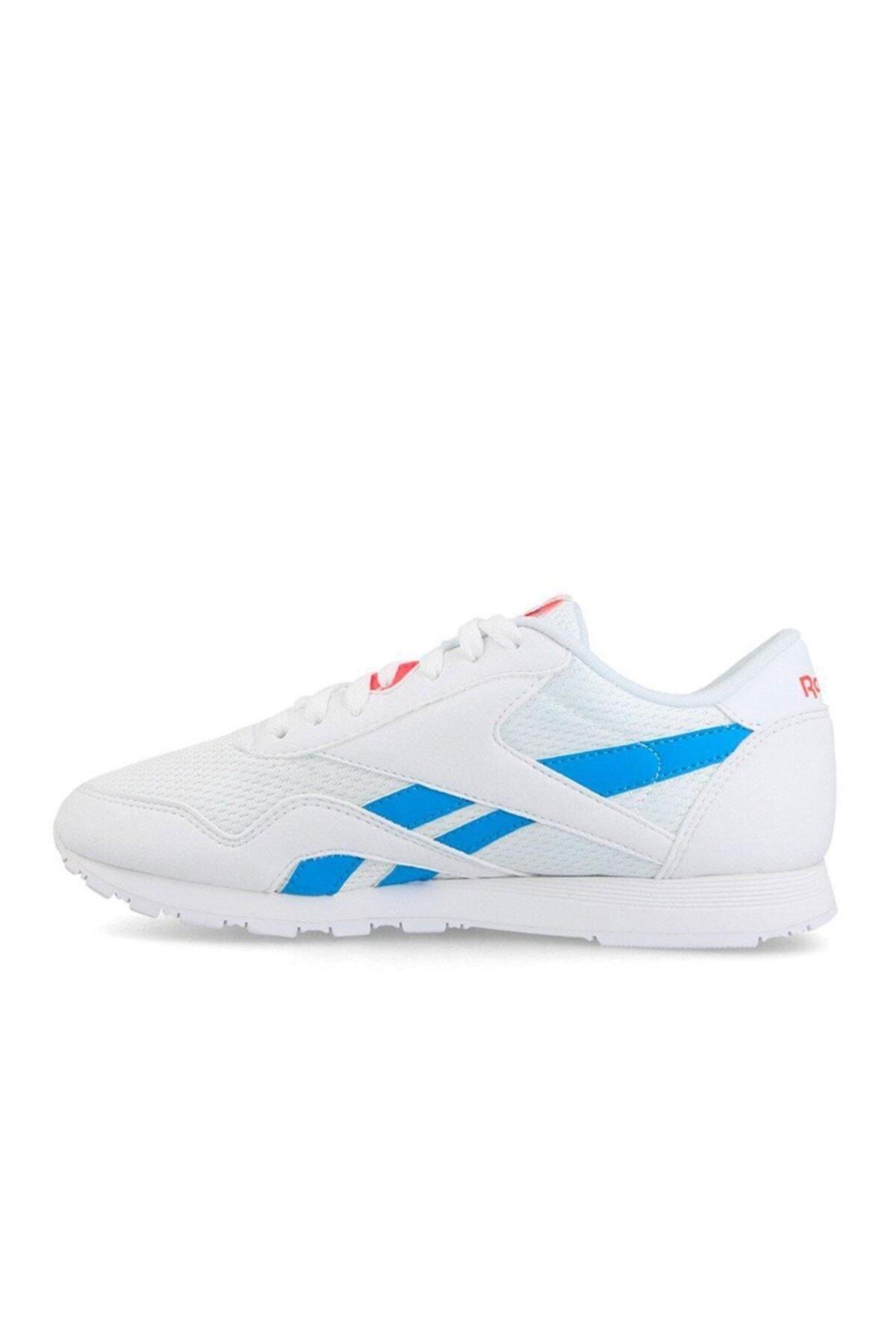 Reebok CL NYLON TXT Beyaz Kadın Koşu Ayakkabısı 100413236 2
