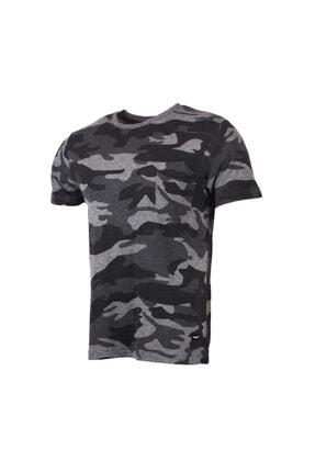 HUMMEL HMLCAKLIN T-SHIRT S/S Gri Erkek T-Shirt 100580924