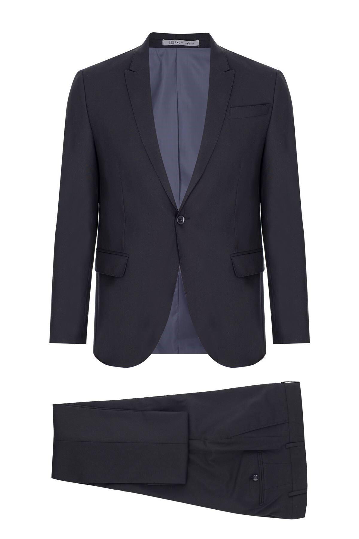 İgs Erkek K.lacivert Barı / Geniş Kalıp Std Takım Elbise 1