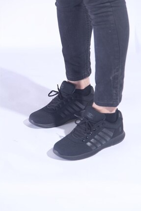 MP Siyah Erkek Spor Ayakkabı