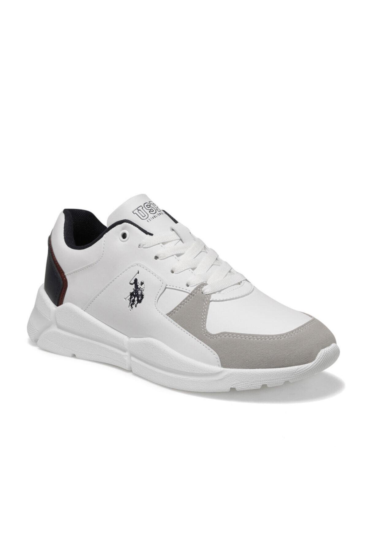 U.S. Polo Assn. CALABRIA Beyaz Erkek Sneaker Ayakkabı 100548881 1