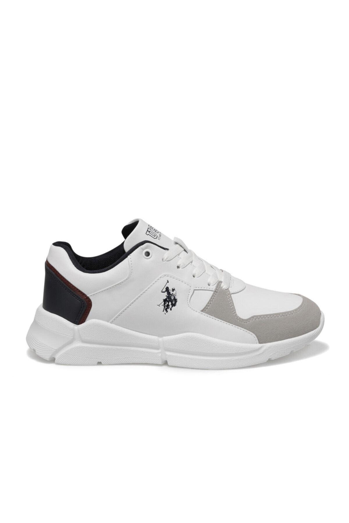 U.S. Polo Assn. CALABRIA Beyaz Erkek Sneaker Ayakkabı 100548881 2
