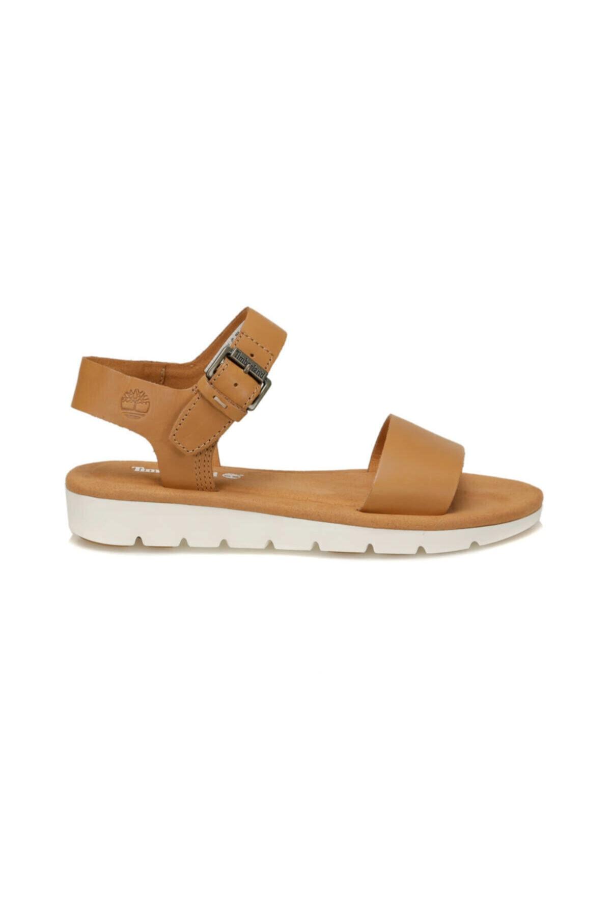 Timberland Lottıe Lou Camel Kadın Sandalet 2