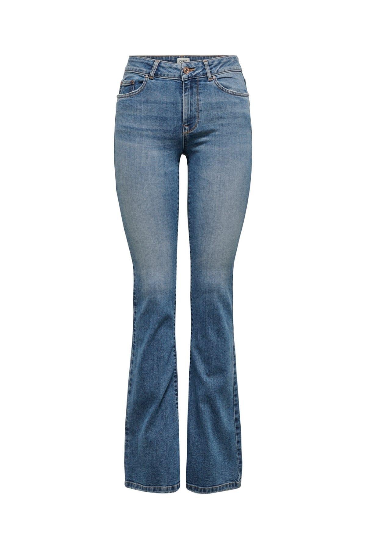 Only Onlhush Life Mıd Flored Bb Dot0003 Jeans 15208314 1