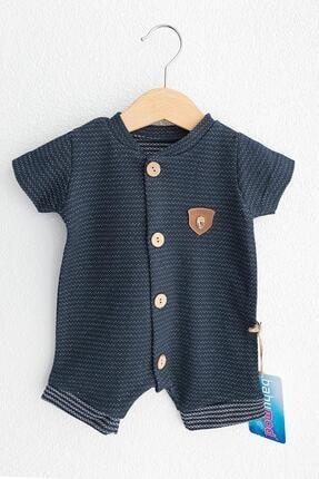 Babymod Düğmeli Kısa Kollu Erkek Bebek Tulum
