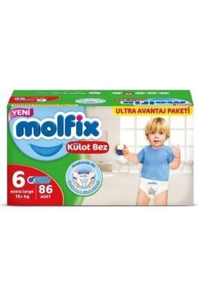 Molfix Külot Bez 6 Beden 86 Adet Ultra Avantaj Paketi Kutu