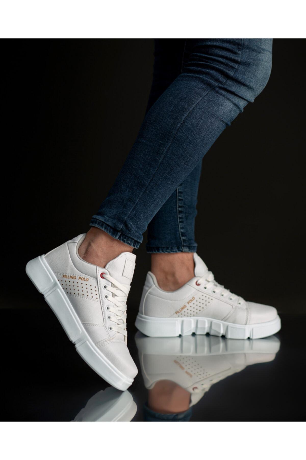 FREE MARKA Beyaz Günlük Ayakkabı 2