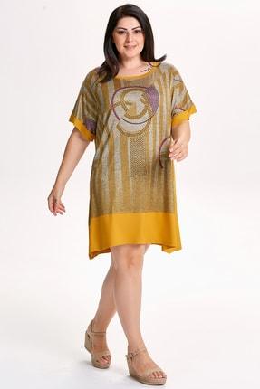 Epi Fashion Baskılı Taş Detaylı Tunik