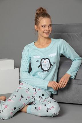 STRAWBERRY Pamuklu Uzun Kol Pijama Takımı