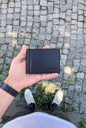 GUARD Hakiki Deri Cüzdan - Klasik / Siyah Saffiano