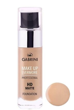 Gabrini Hd Matte Foundation 01
