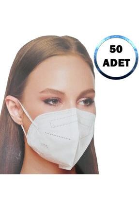 SECUREX MASK Ffp2 N95 Maske 50 Adet + 10 Adet 125 Ml Dezenfektan Jel