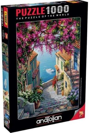 Anatolian Puzzle Kıyı Merdivenleri Stairs To The Sea 1000 Parça Puzzle