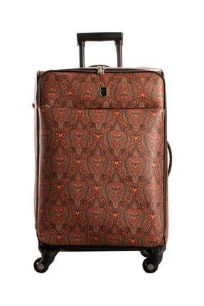 CANTAŞ Desenli Orta Boy Bavul
