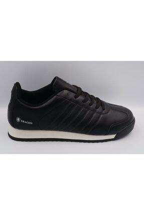 MP Spor Ayakkabı Siyah - Beyaz Suni Deri Orjinal Uniseks Ayakkabı