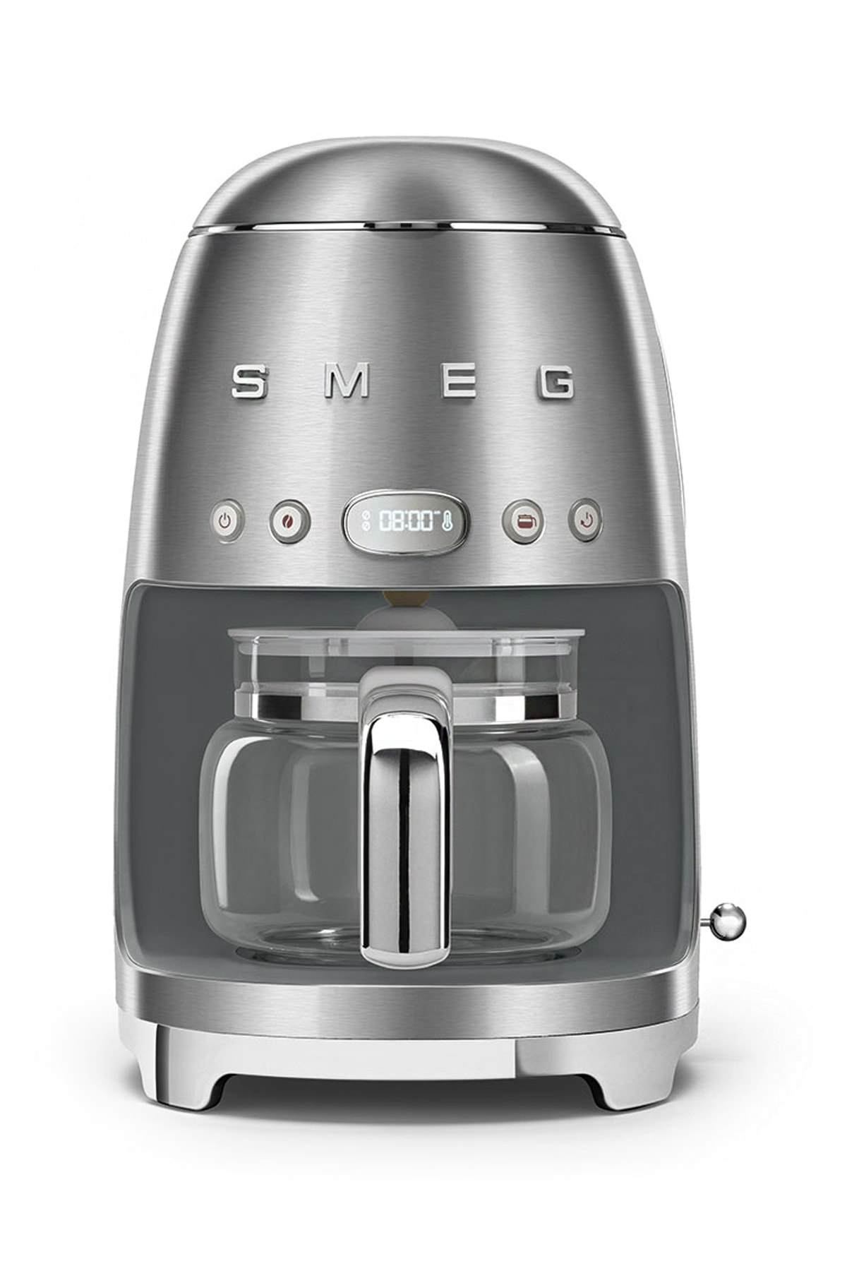 SMEG Çelik Filtre Kahve Makinası 50's Retro Dcf02sseu 1