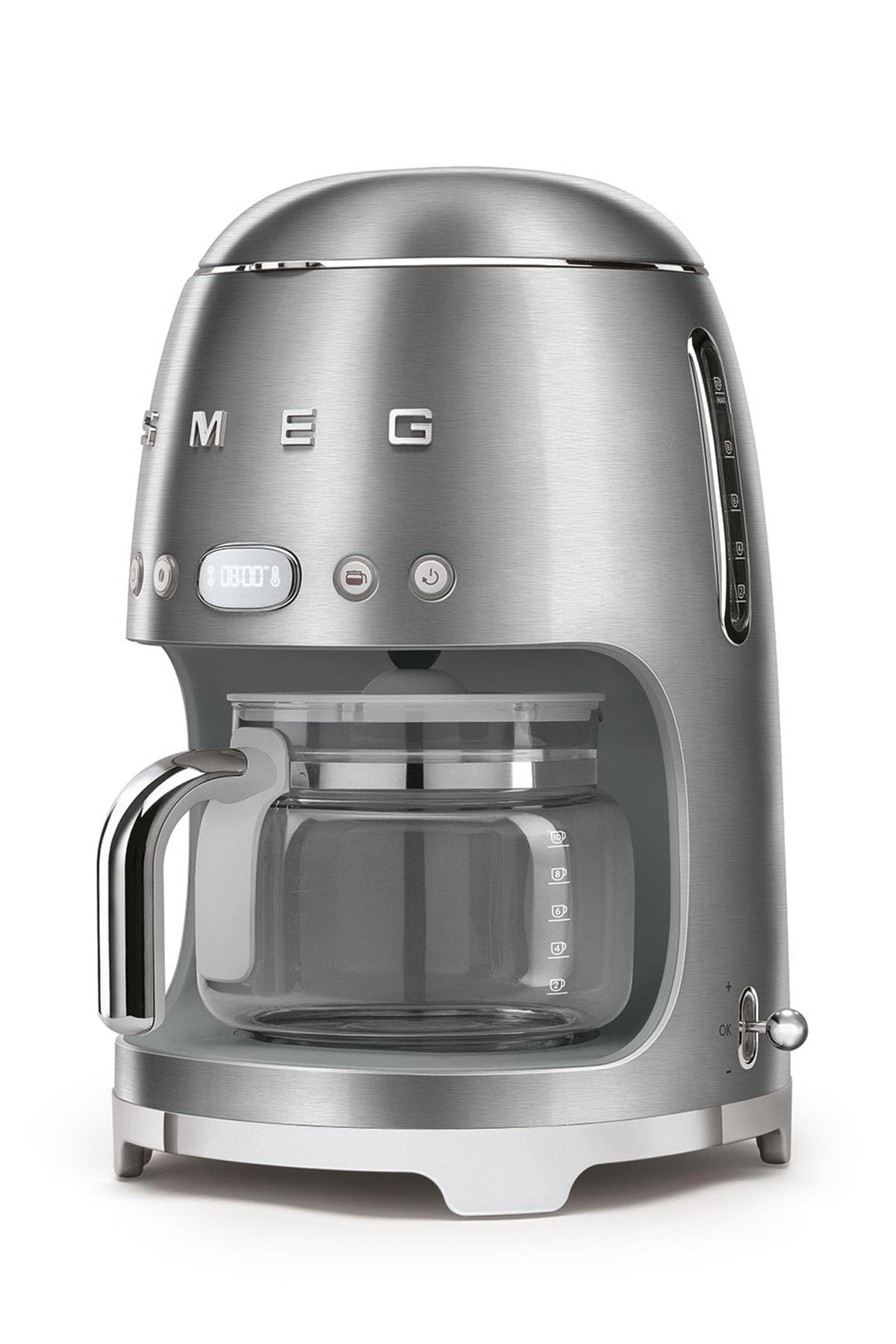 SMEG Çelik Filtre Kahve Makinası 50's Retro Dcf02sseu 2